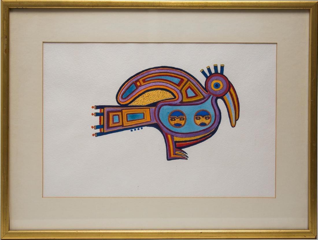 Native American Tribal Print, Bird - 2