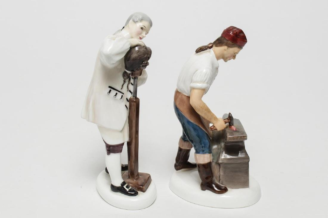 Royal Doulton Williamsburg Porcelain Figurines, 2 - 2