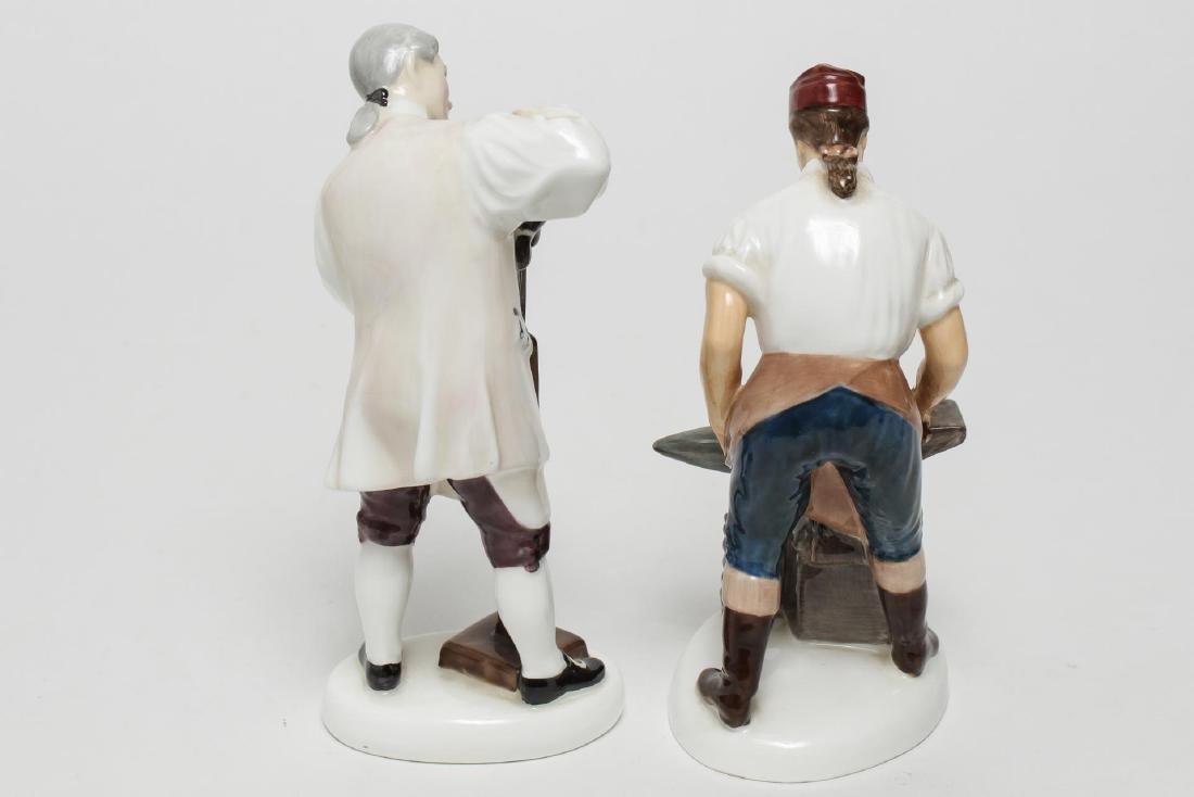 Royal Doulton Williamsburg Porcelain Figurines, 2 - 3
