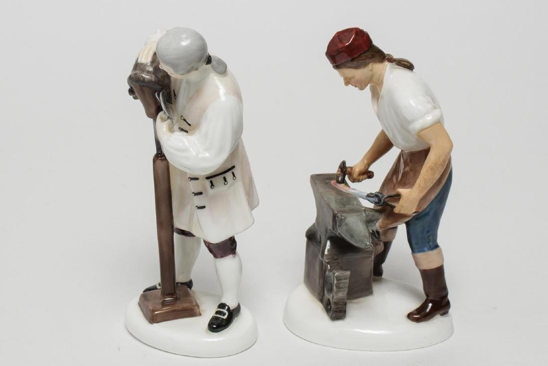 Royal Doulton Williamsburg Porcelain Figurines, 2 - 4