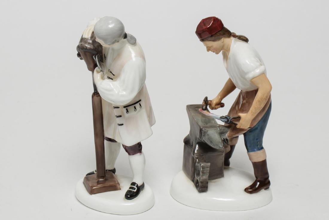 Royal Doulton Williamsburg Porcelain Figurines, 2 - 4