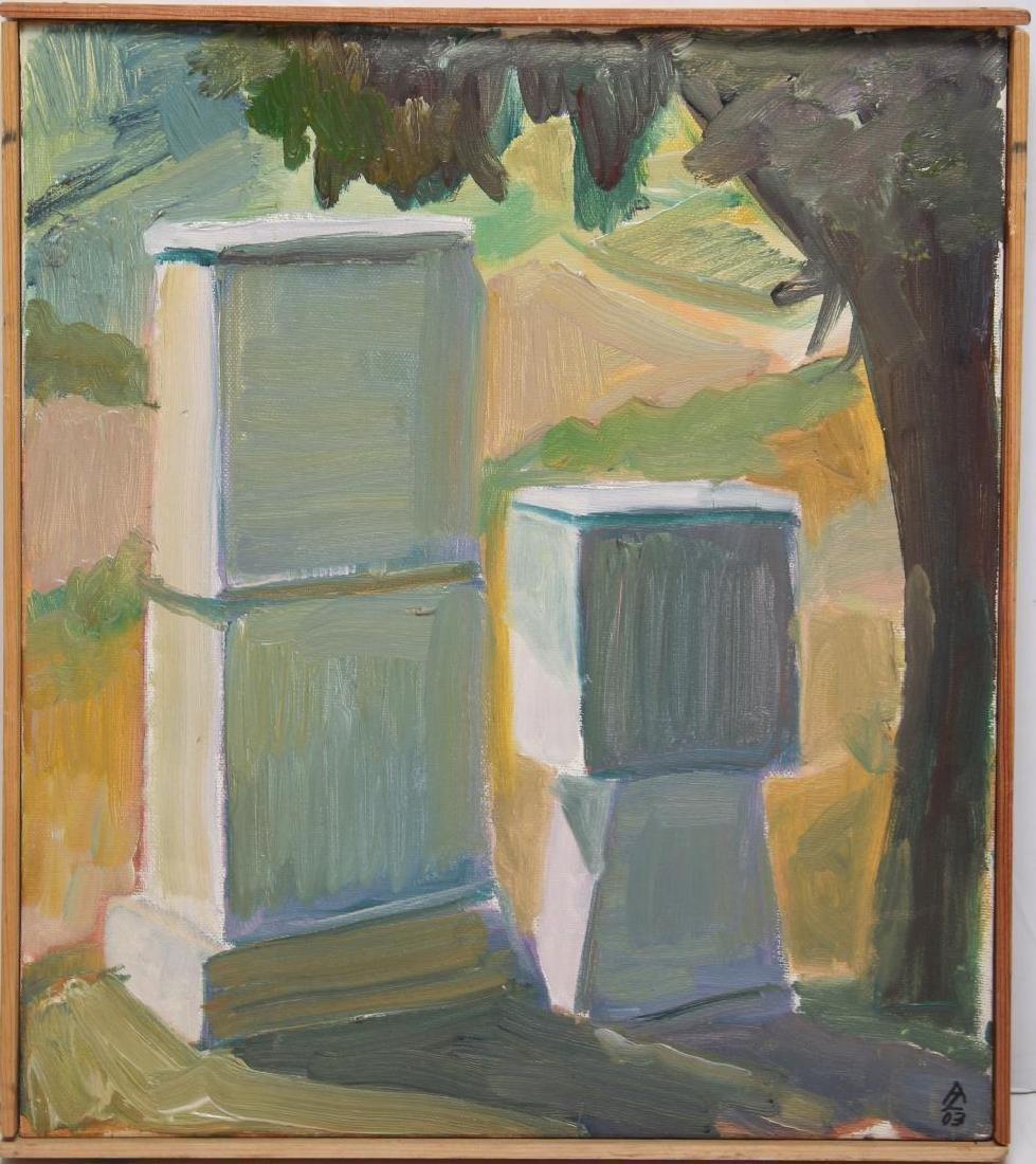 Alan H. Zwiebel (American, b. 1950)- Oil on Canvas