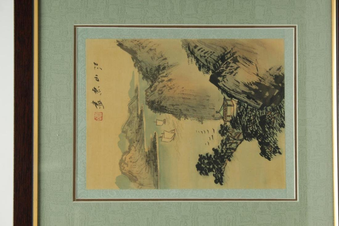 Chinese Hand-Painted Landscape Pictures, 2 - 4