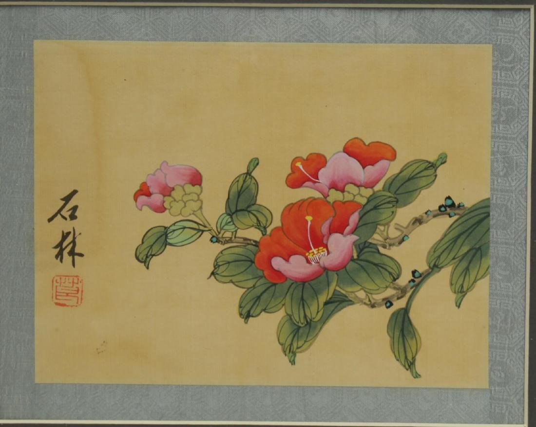 Chinese Hand-Painted Flower Pictures, 2 - 2