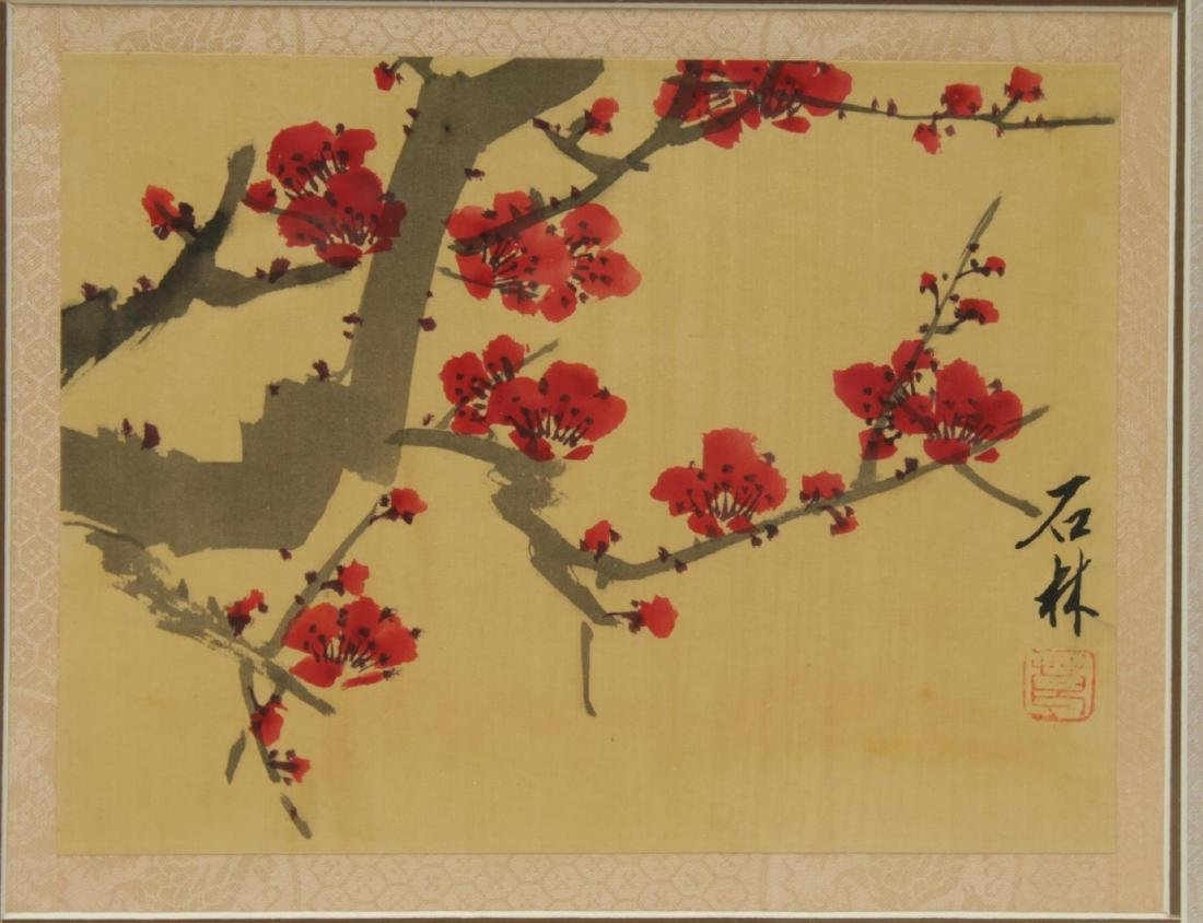 Chinese Hand-Painted Flower Pictures, 2 - 4