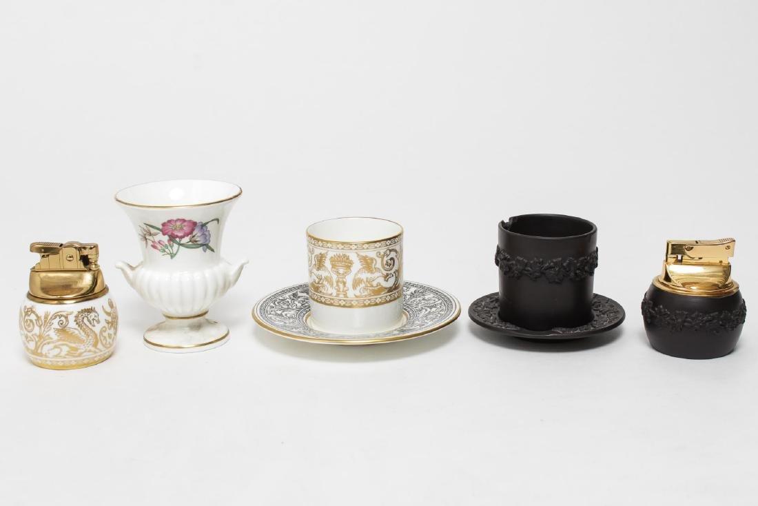 Wedgwood Florentine Porcelain & Basalt Pieces