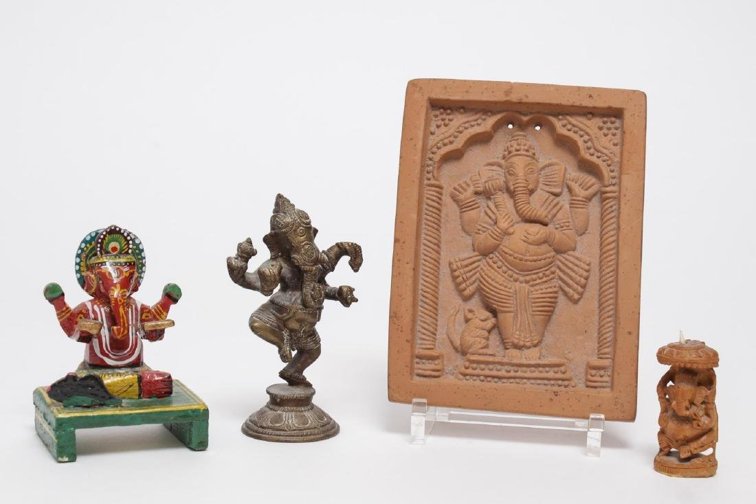 Indian/ Hindu Ganesha Images- Collection of 4