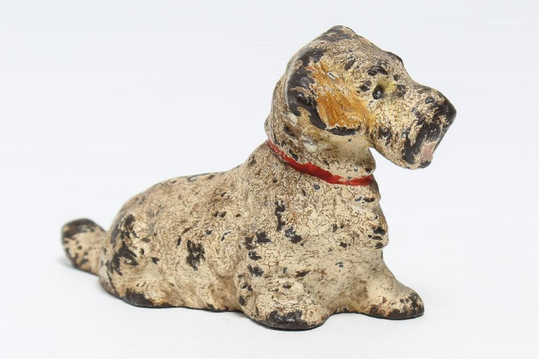 Austrian Cold-Painted Vienna Bronze Dog Sculpture