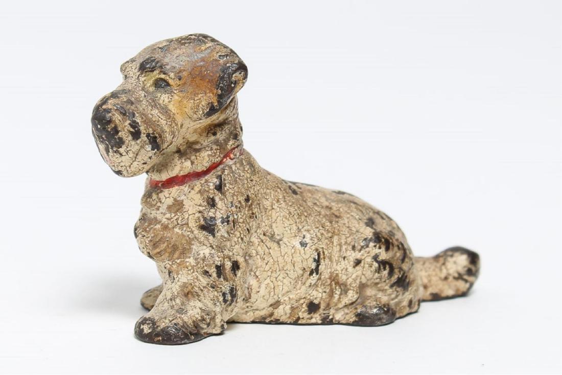 Austrian Cold-Painted Vienna Bronze Dog Sculpture - 2