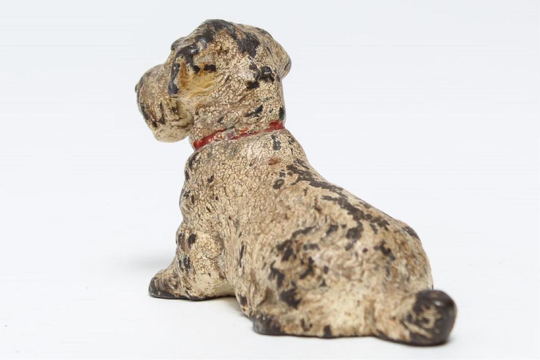 Austrian Cold-Painted Vienna Bronze Dog Sculpture - 3