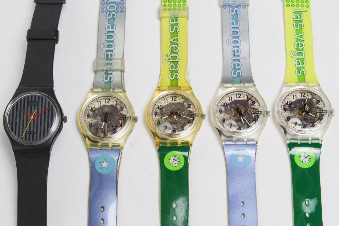 Vintage Swatch Watches, Group of 5, c. 1990s
