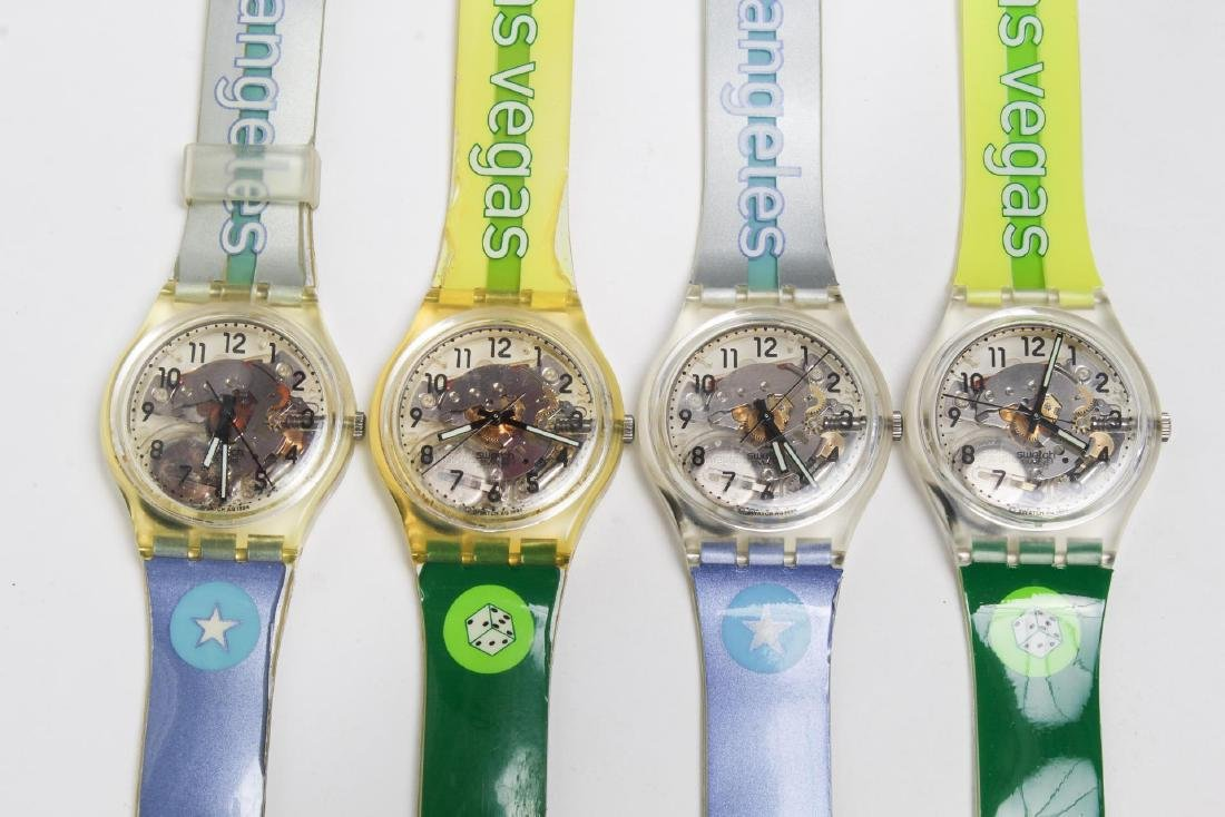 Vintage Swatch Watches, Group of 5, c. 1990s - 3