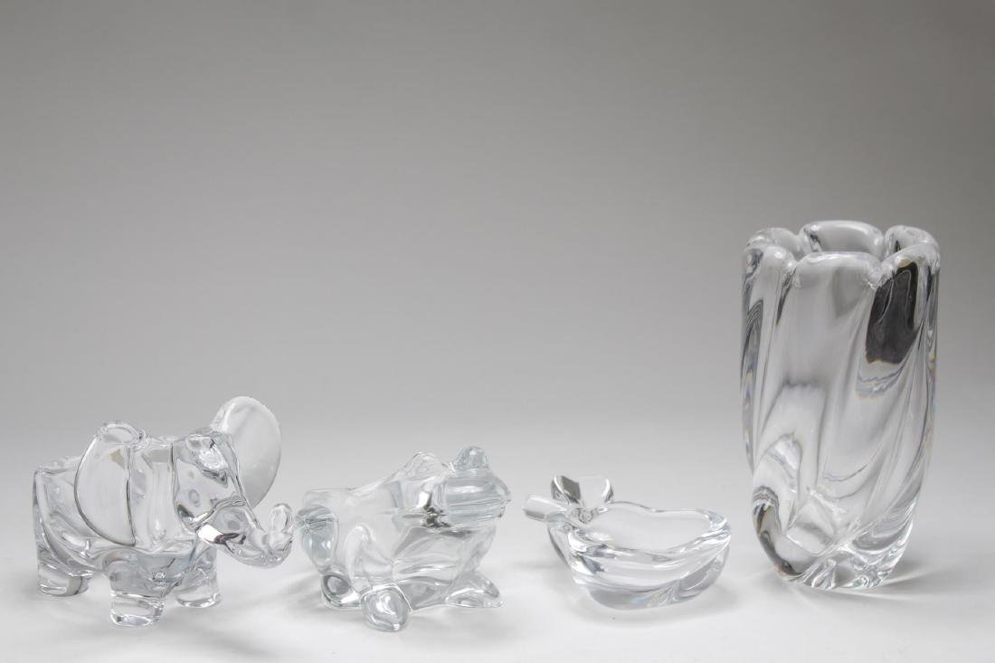 Lead Crystal Items, inc. Orrefors and French, 4