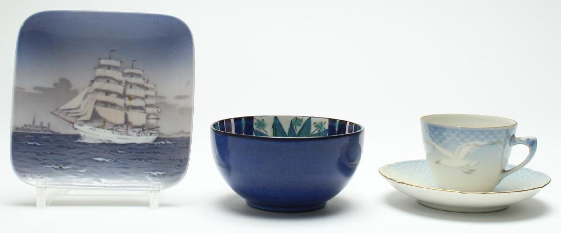 Danish Mid-Century Porcelain Serving Items, 3