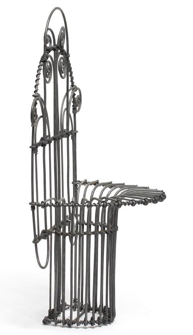 Karl Howard Art Deco-Style Wire Art Holder - 2