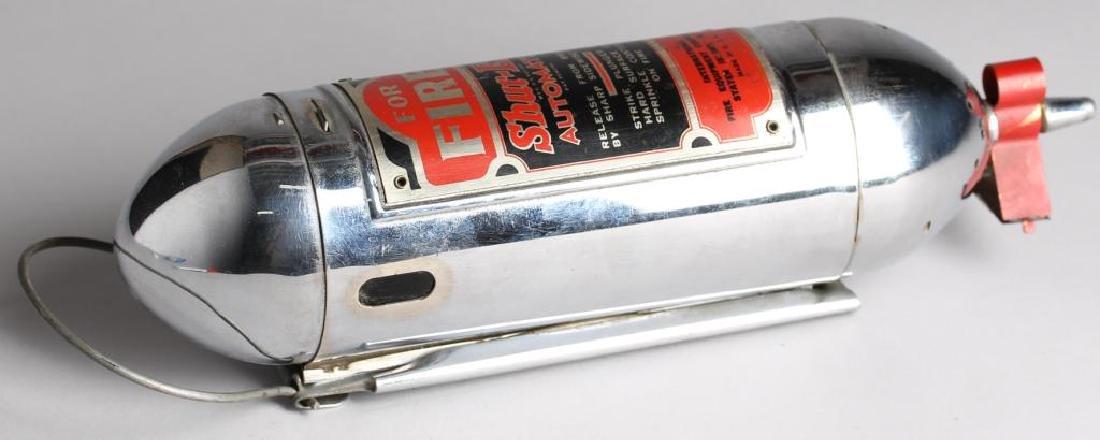 """Shur-Ex """"Motor Guardian"""" Vintage Fire Extinguisher"""