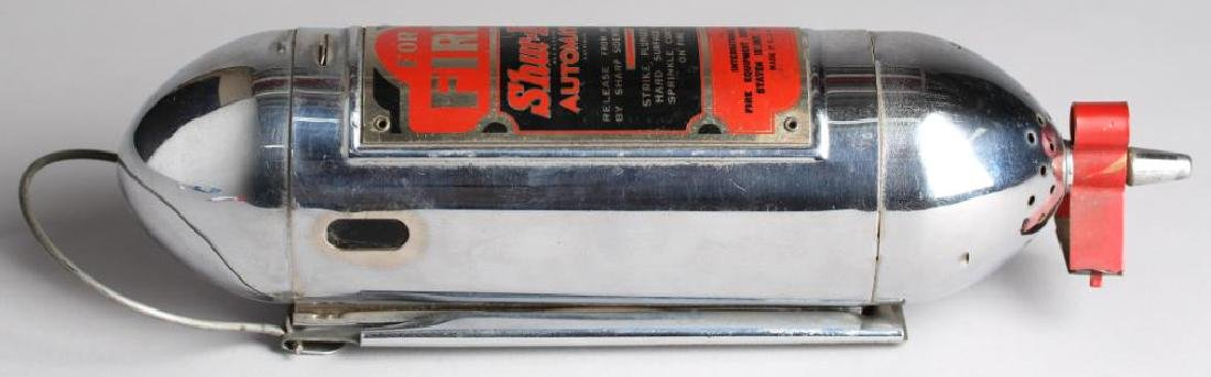 """Shur-Ex """"Motor Guardian"""" Vintage Fire Extinguisher - 2"""