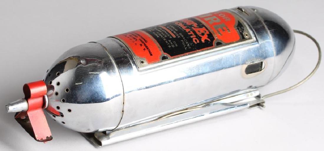 """Shur-Ex """"Motor Guardian"""" Vintage Fire Extinguisher - 3"""