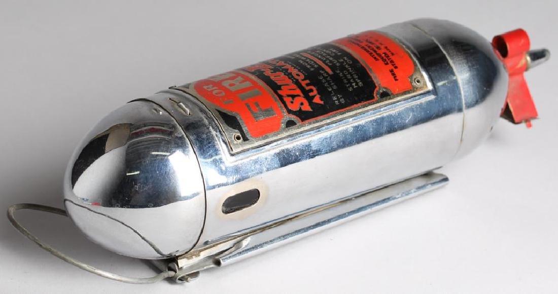 """Shur-Ex """"Motor Guardian"""" Vintage Fire Extinguisher - 4"""