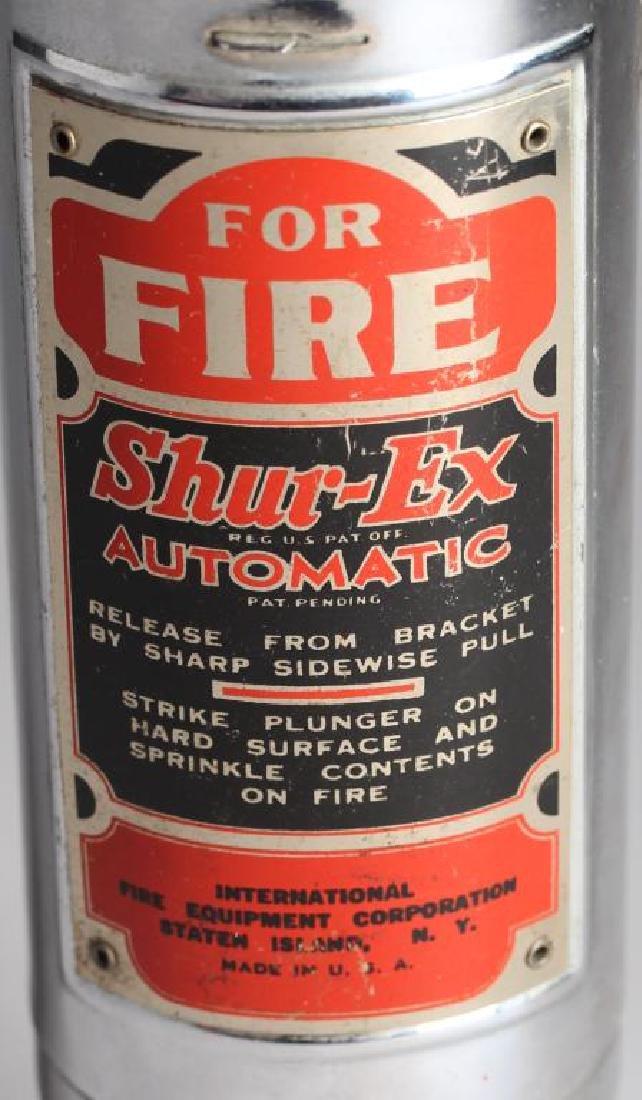 """Shur-Ex """"Motor Guardian"""" Vintage Fire Extinguisher - 6"""