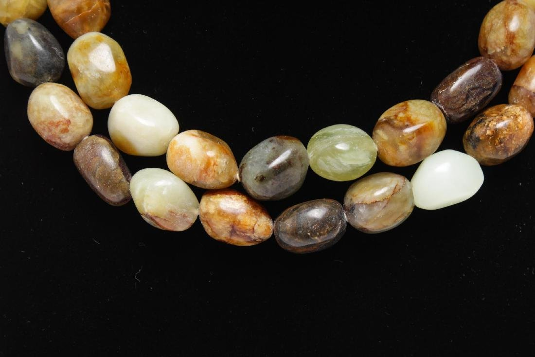 Kenneth J. Lane Layered Agate Necklace - 3