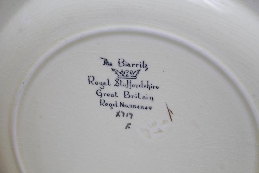 Biarritz Royal Staffordshire Pottery Dishes, 3 - 3