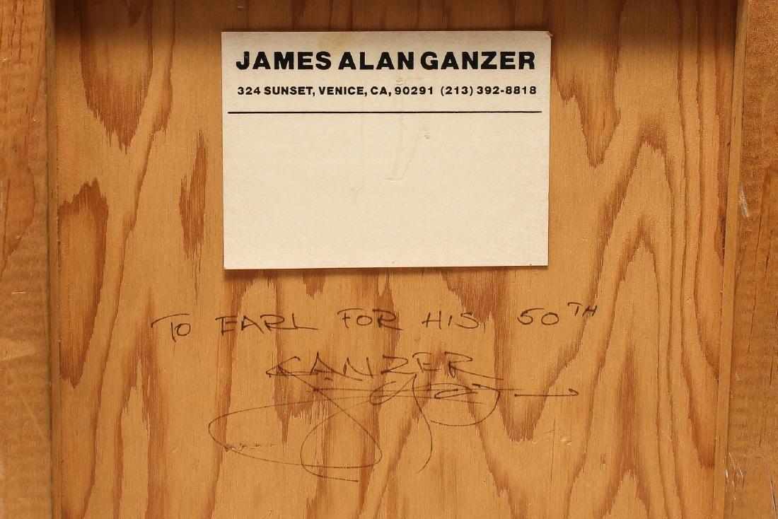 James Alan Ganzer (American. 20th C)- Mixed Media - 3