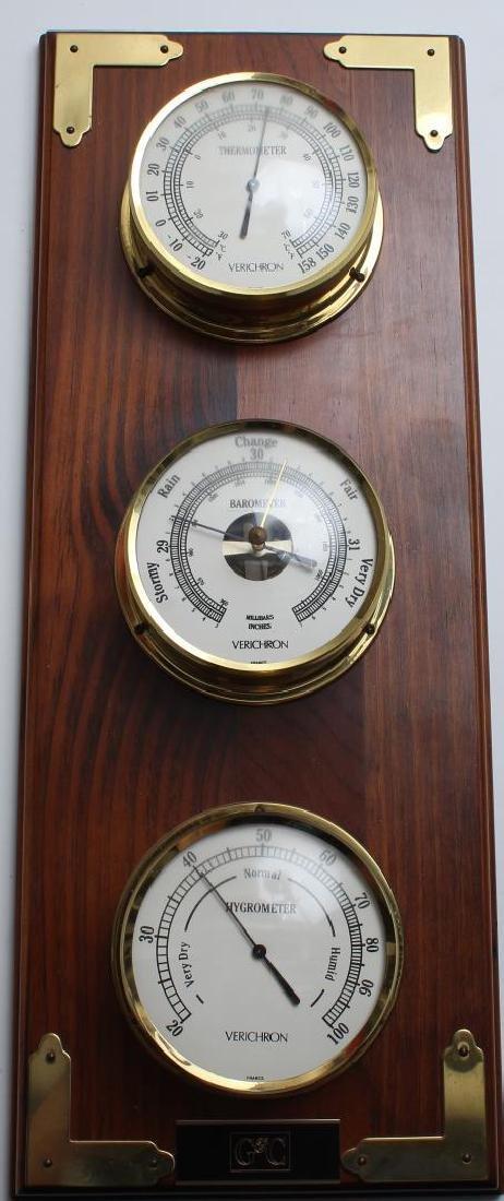 Verichron Thermometer-Barometer-Hygrometer