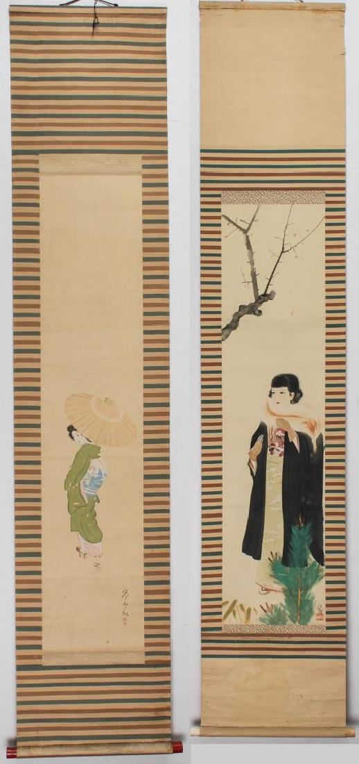 Japanese Fashion Scroll Paintings, 2