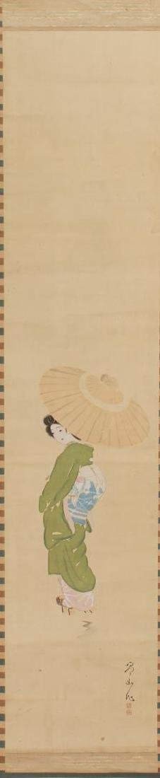Japanese Fashion Scroll Paintings, 2 - 3
