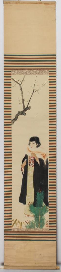 Japanese Fashion Scroll Paintings, 2 - 5