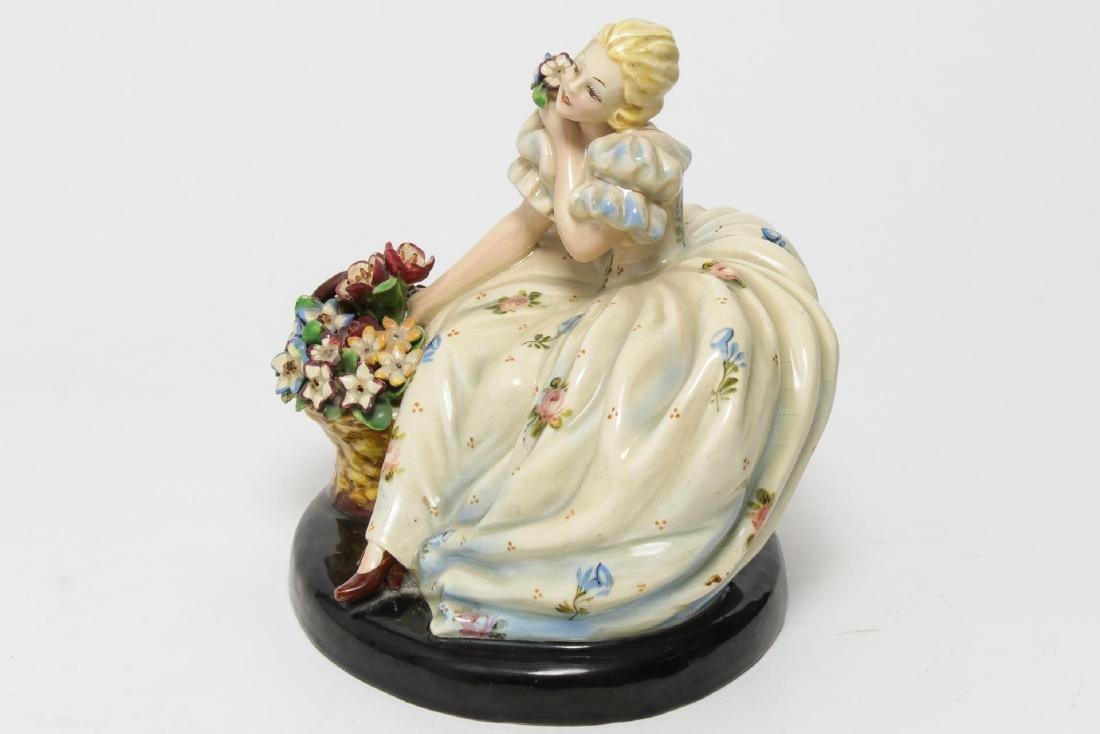 Italian Sebellin Pottery Figurine, Vintage - 4