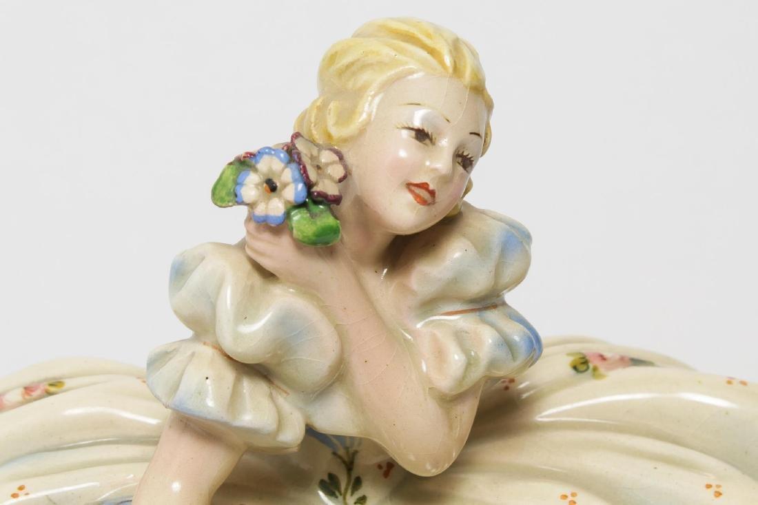Italian Sebellin Pottery Figurine, Vintage - 5