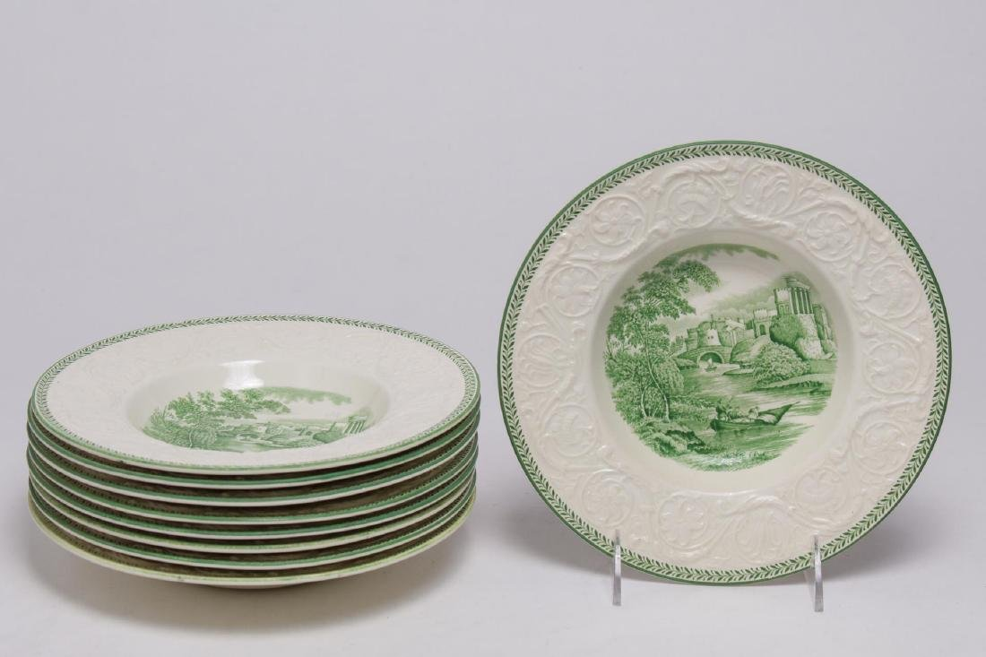 Wedgwood Patrician Torbay Porcelain Soup Bowls, 9