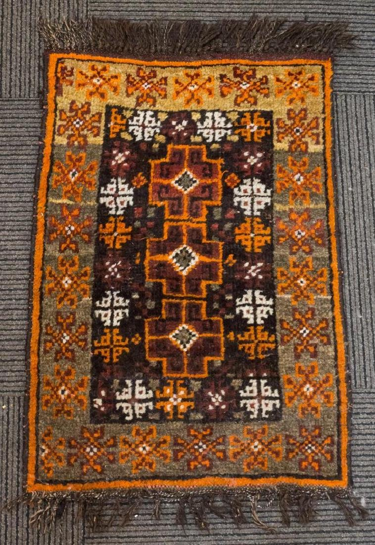 "Persian Baluch Rug 1' 6"" X 2' 3"""