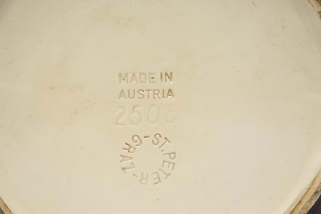 St. Peter Graz Austrian Majolica Centerpiece Bowl - 6