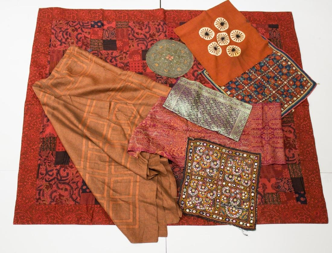 Southeast Asian Textiles & Embroidery, 8 Pcs.