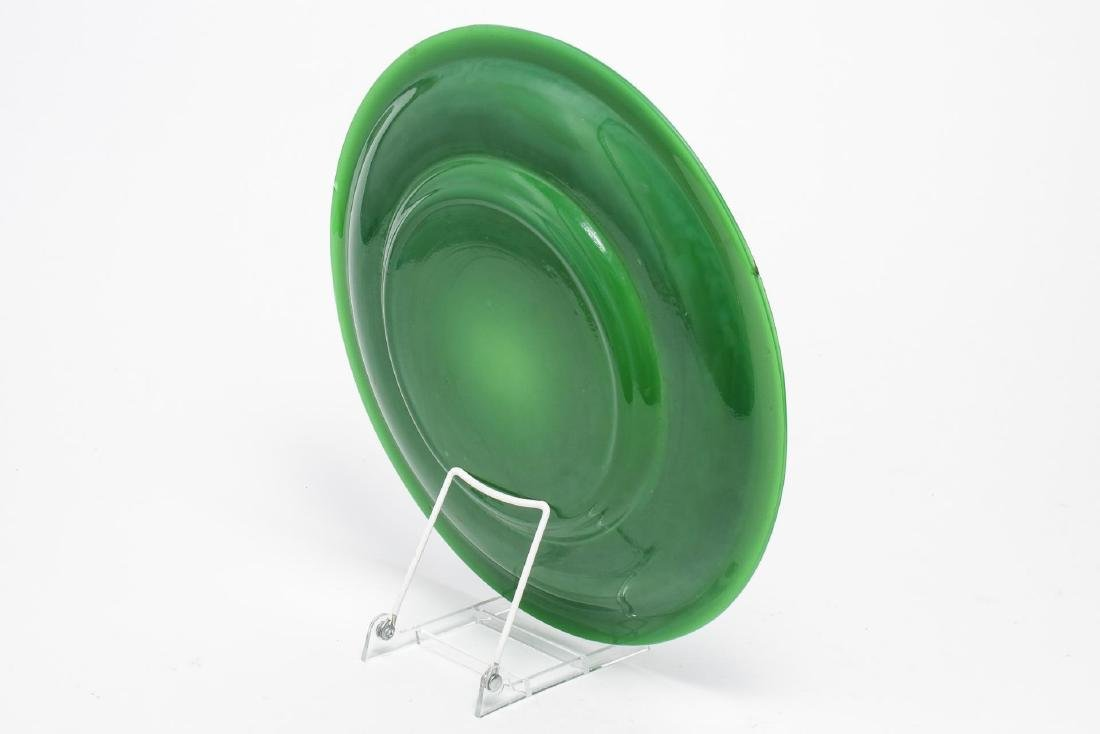 Chinese Beijing Glass Charger Plate - 2