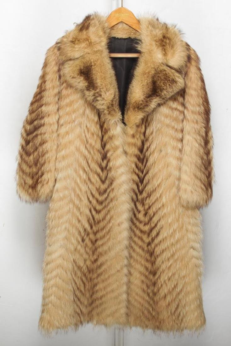 Vintage Fur Coat, Woman's