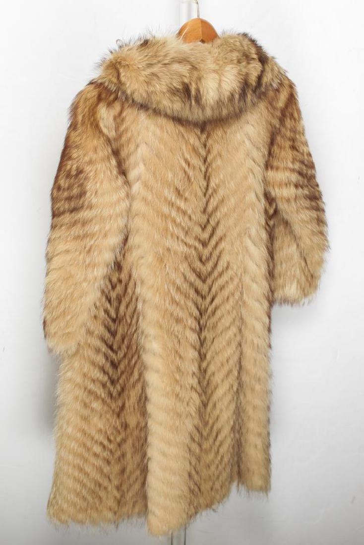 Vintage Fur Coat, Woman's - 2