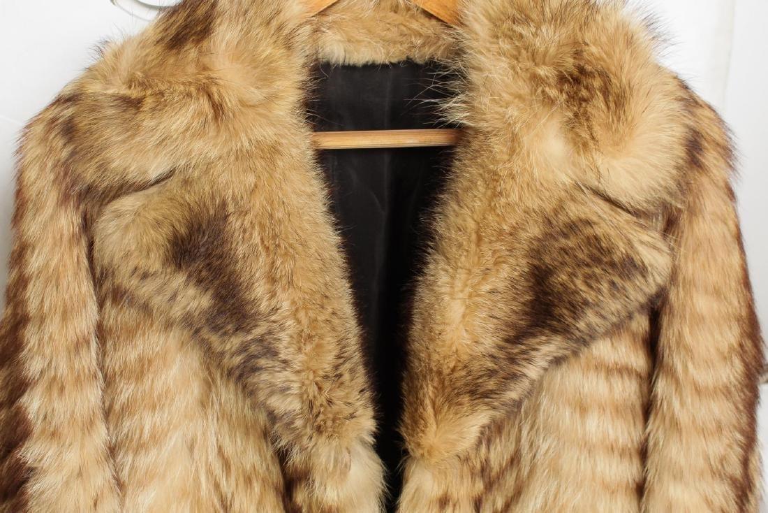 Vintage Fur Coat, Woman's - 4