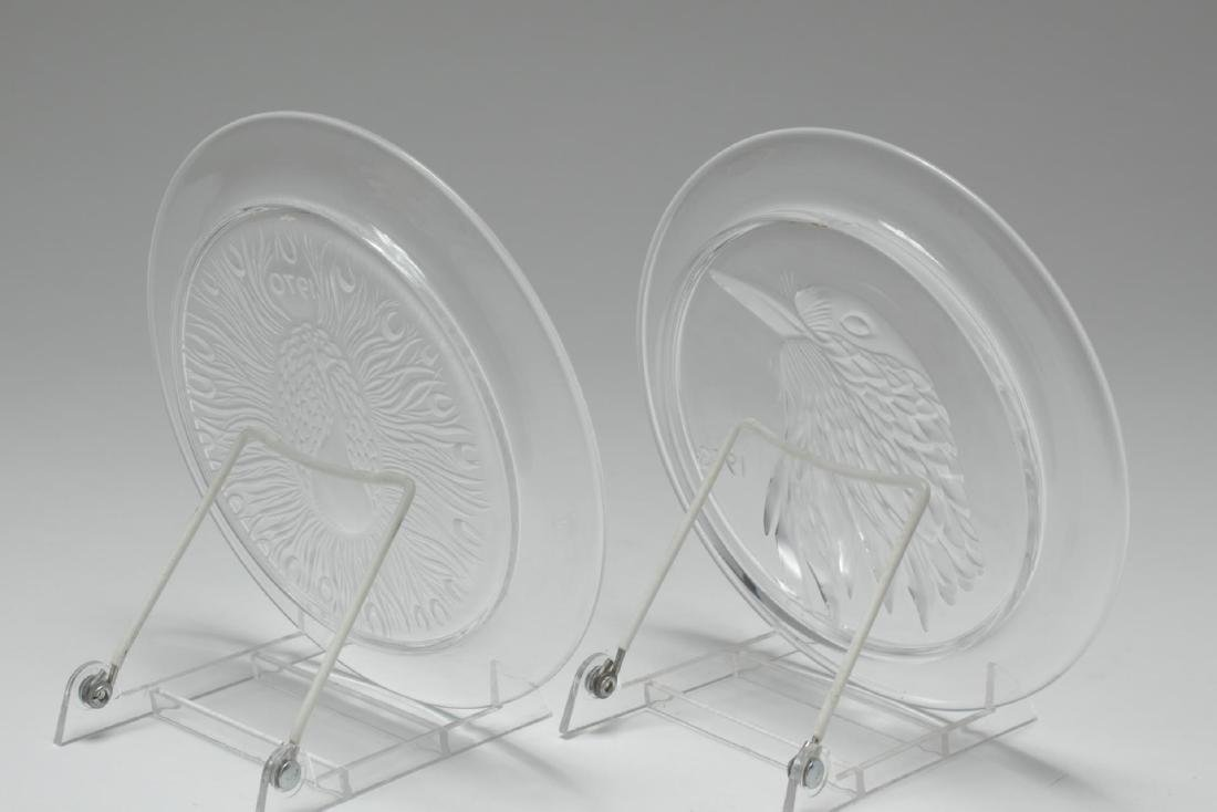 Lalique Glass Annual Collector Plates, 2 - 2