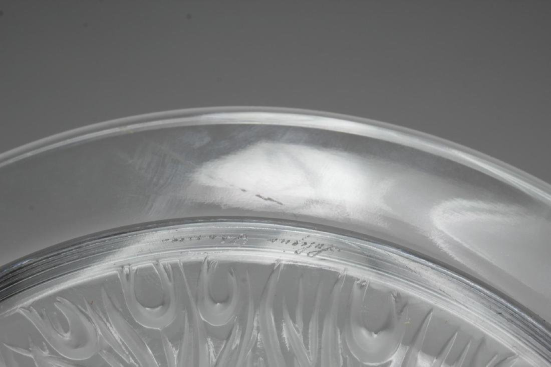 Lalique Glass Annual Collector Plates, 2 - 4
