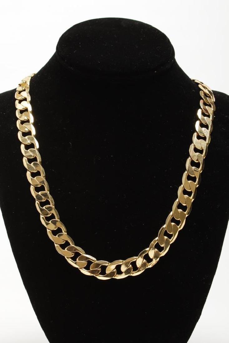 Vintage Costume Chain Necklaces, Gold-Tone - 2