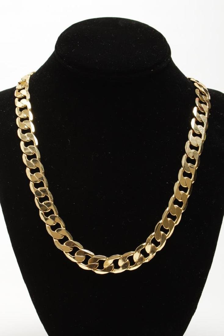 Vintage Costume Chain Necklaces, Gold-Tone - 2