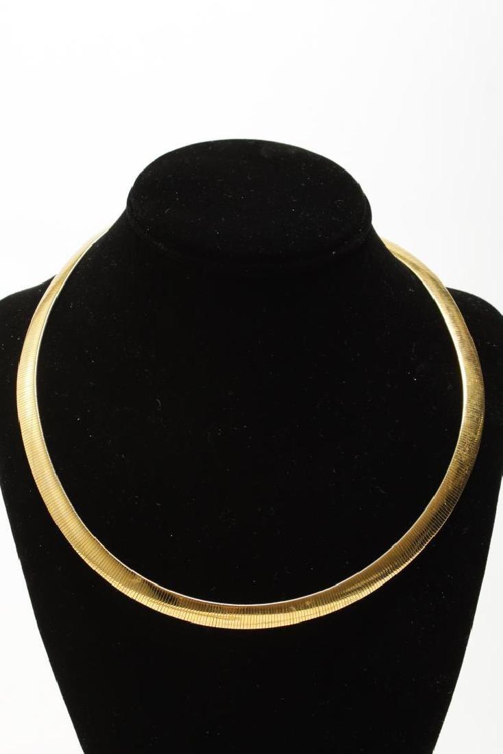 Vintage Costume Chain Necklaces, Gold-Tone - 3