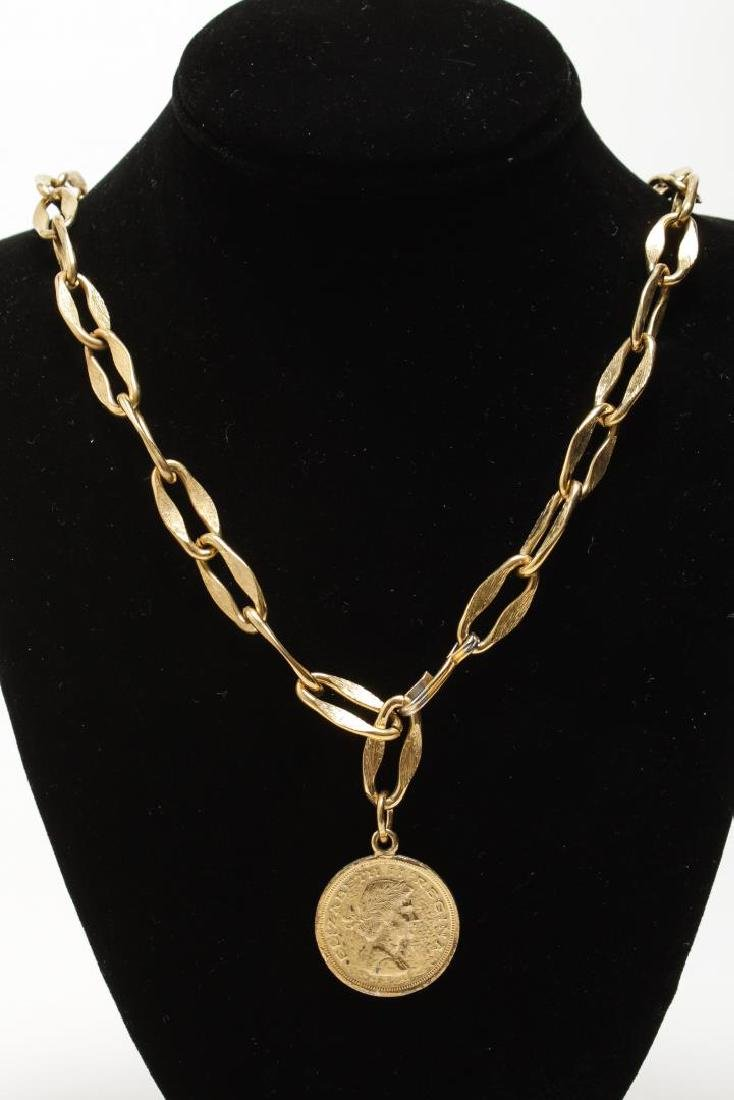 Vintage Costume Chain Necklaces, Gold-Tone - 5