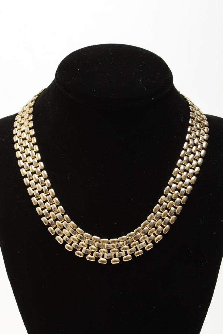 Vintage Costume Chain Necklaces, Gold-Tone - 6