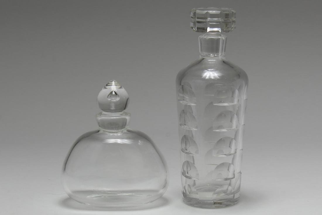 Lead Crystal Decanters, Continental, 2