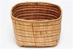 Antique North West Coast Native American Basket